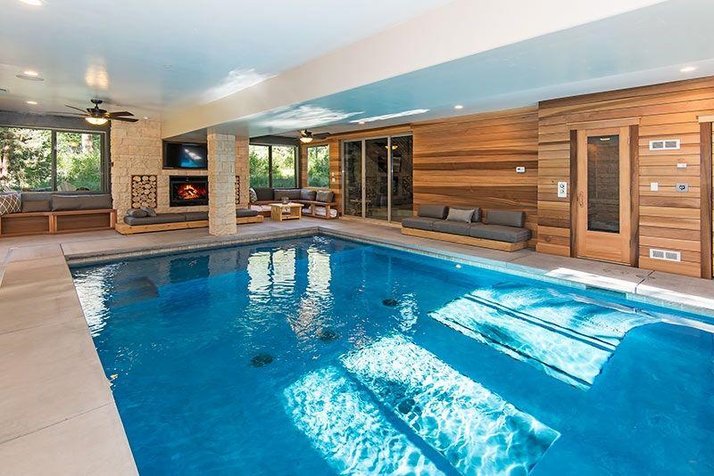 9 Bedroom/9 Bath Mansion W/Indoor Pool Vacation Rental