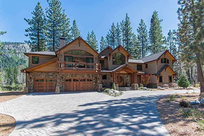 South lake tahoe luxury mountain estate near skiing heavenly sierra at tahoe with indoor pool - Alpine vacation houses ...