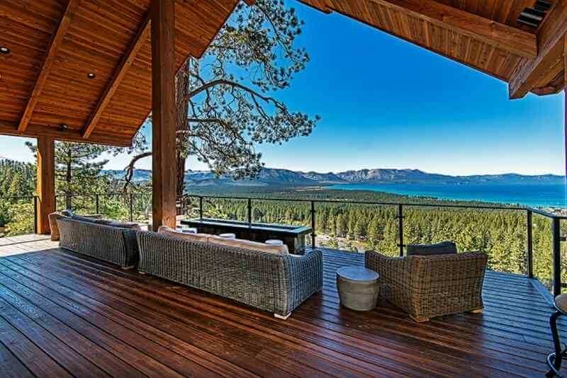 Luxury vacation home rental Lake Tahoe